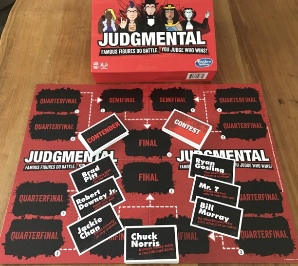hasbro judgmental board game contest
