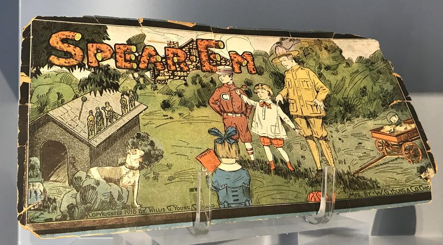 spear 'em dart throwig game
