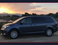 2017 toyota sienna ltd awd review