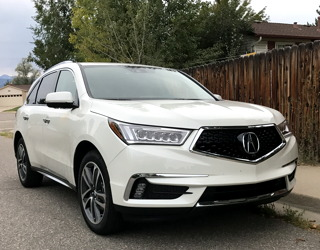 review of the 2017 acura mdx awd