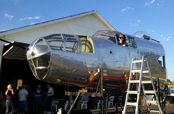 b-29 bomber - maker faire