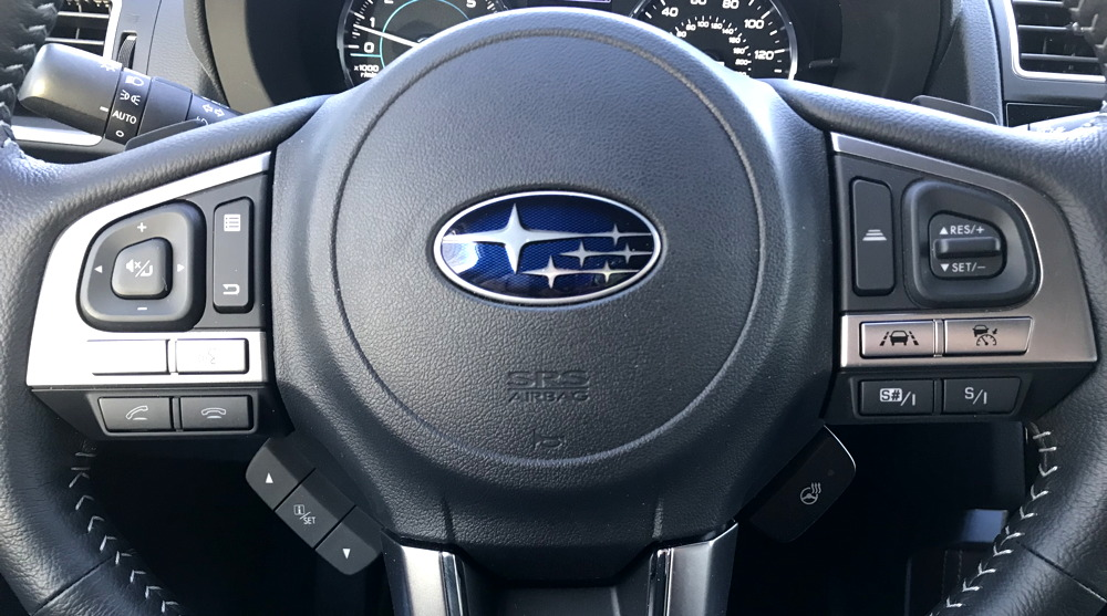2018 subaru forester steering wheel
