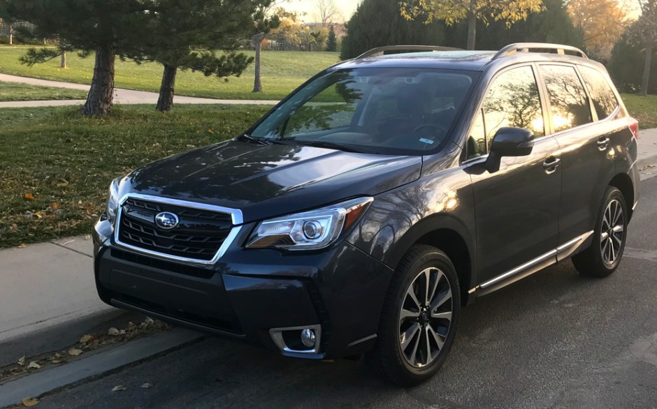 a mediocre experience driving the 2018 subaru forester. Black Bedroom Furniture Sets. Home Design Ideas
