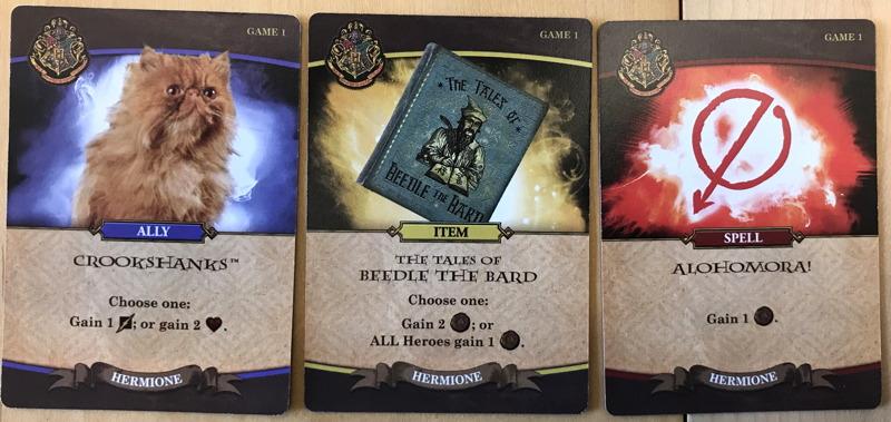 harry potter hogwarts battle - cards