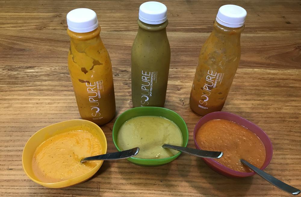 soupure organic soup taste test