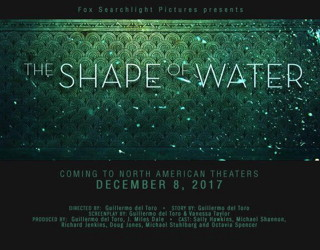 film review - the shape of water - guillermo del toro