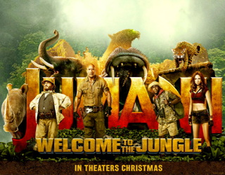 film review - jumanji welcome to the jungle