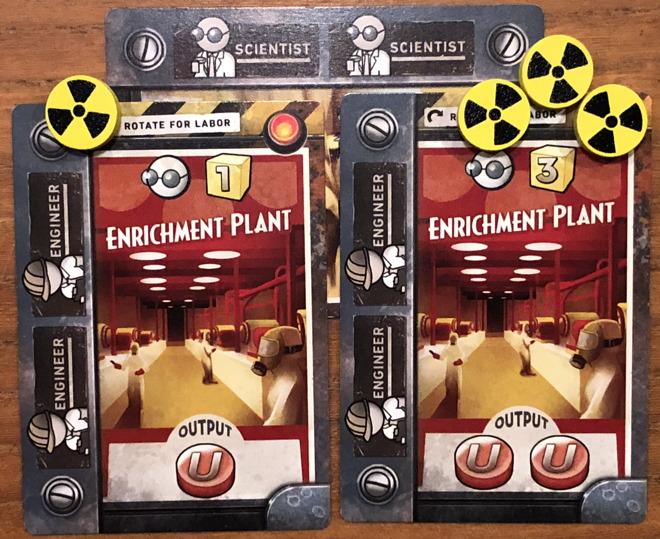 turning yellow cake into uranium, manhattan project