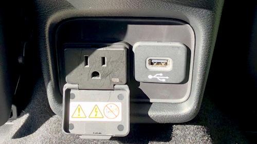 power options, rear passengers, 2018 jeep compass ltd