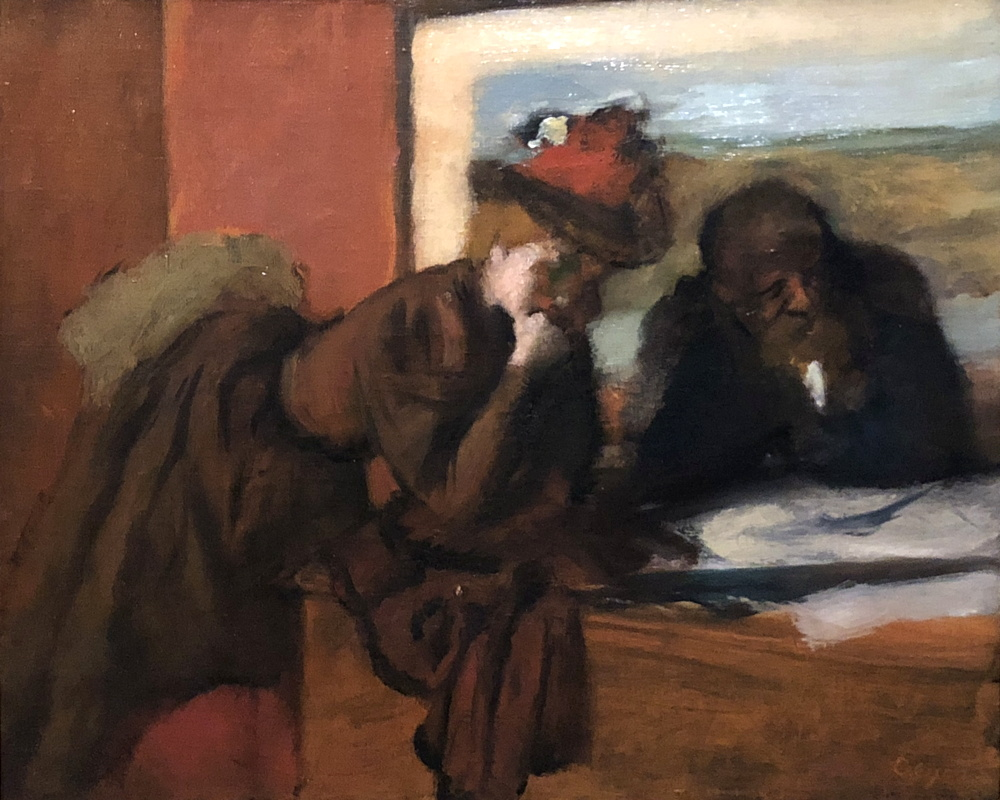 degas The Conversation