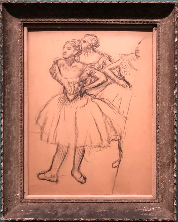degas three dancers