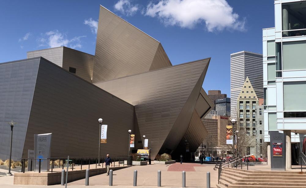 denver art museum exterior