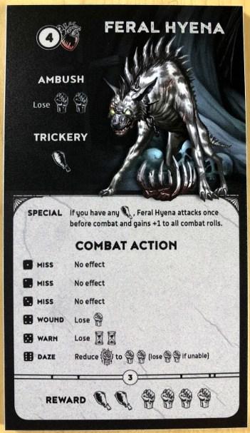 feral hyena monster - unbroken
