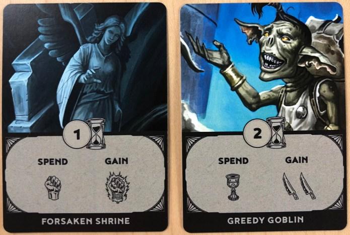 unbroken - encounter cards