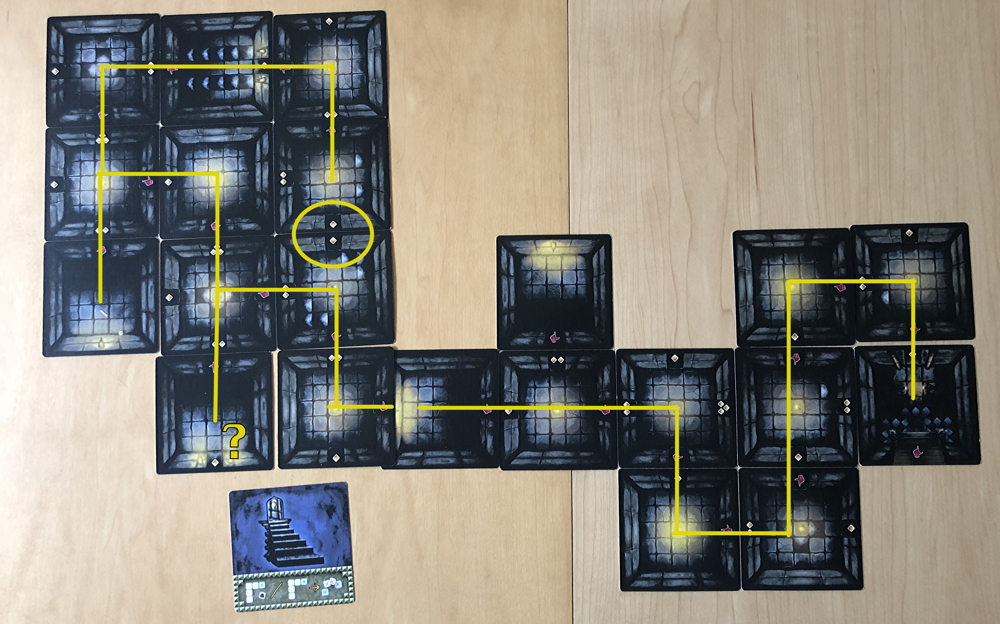 the abandons, bigger maze labyrinth