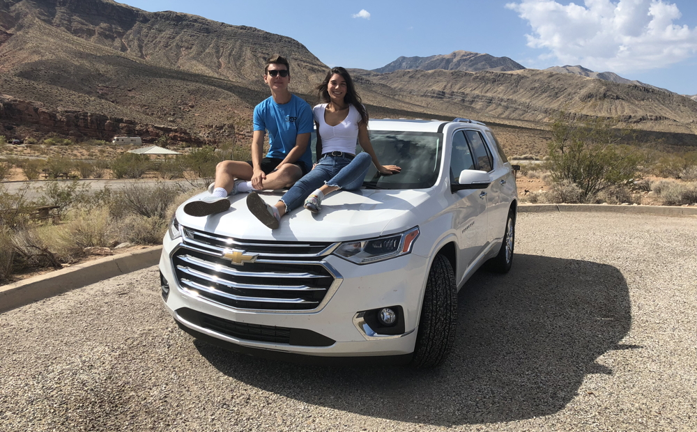 2018 chevy traverse awd high country