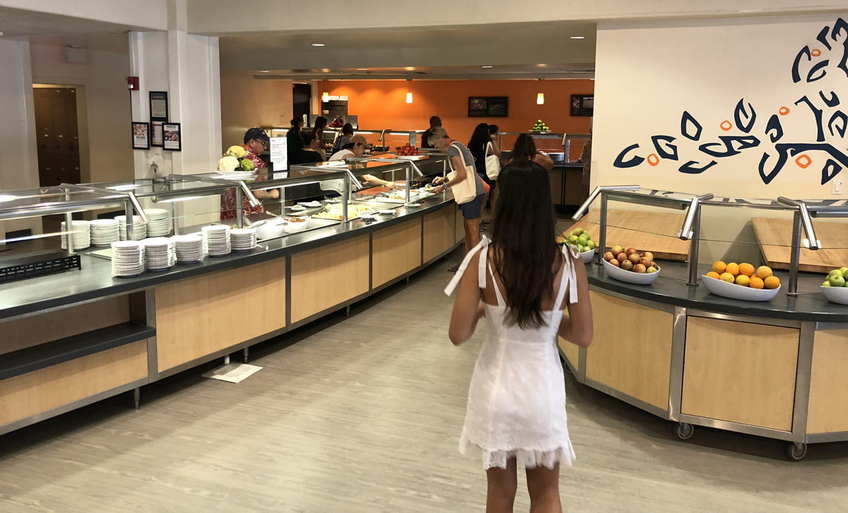 mcconnell bistro dining hall pitzer college claremont ca