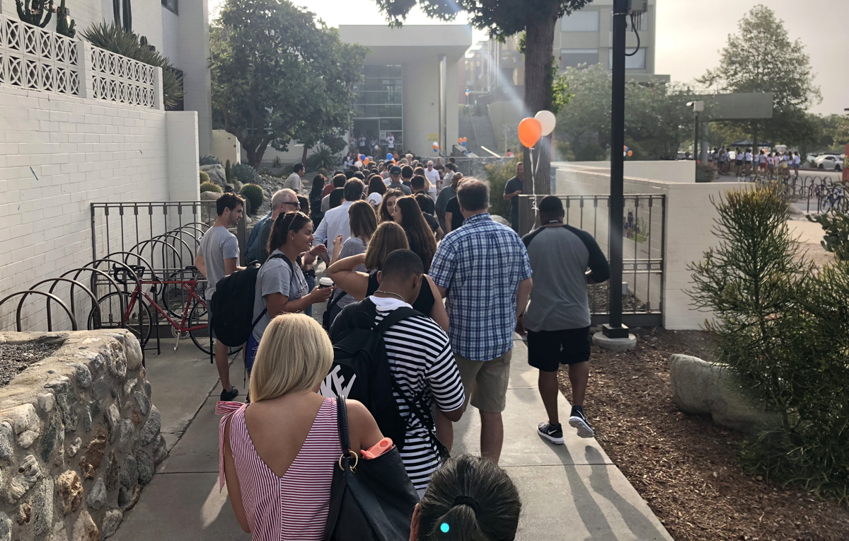 pitzer college move-in