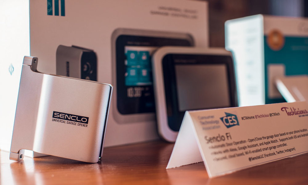 senclo smart home garage controllers