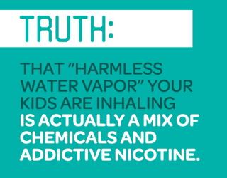 dangers health children teens vaping e-cigarettes