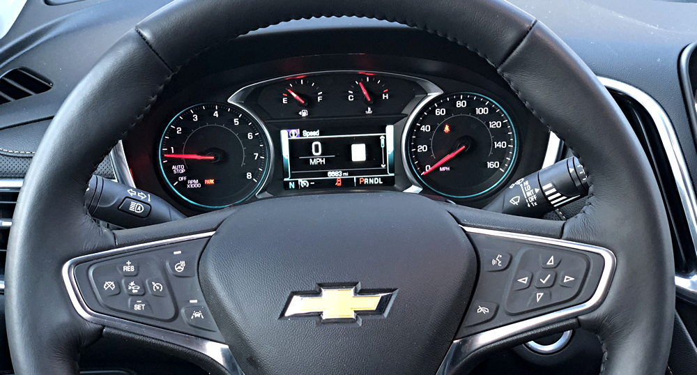 main gauge display, 2018 chevrolet equinox