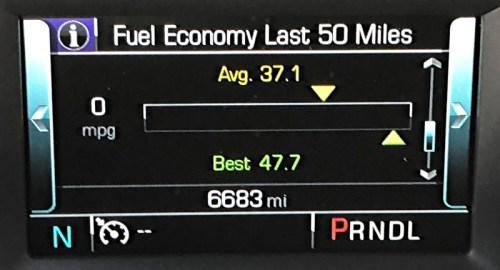 2018 chevrolet equinox fuel efficiency