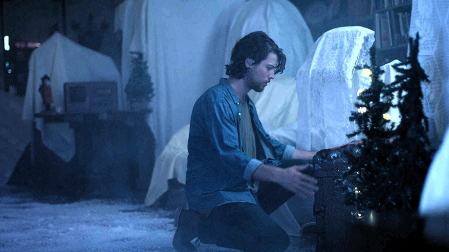 """Nick (Gabriel Miller) Checks The Christmas Room, from """"The Elf"""""""