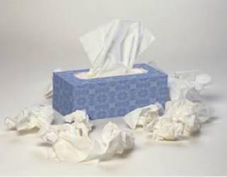 box of tissues - sick child