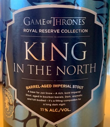 game of thrones king in the north beer ommegang