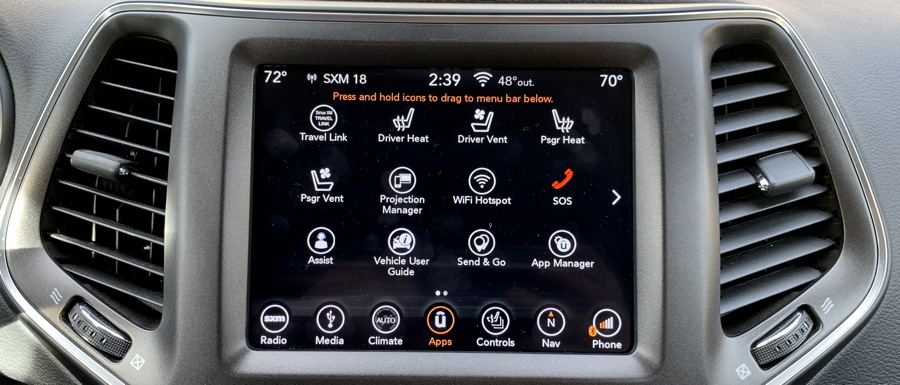complicated programming for uconnect custom navigational system jeep cherokee