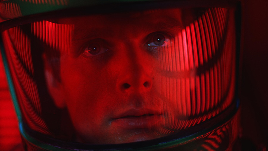 Dave bowman in space helmet 2001 a space odyssey