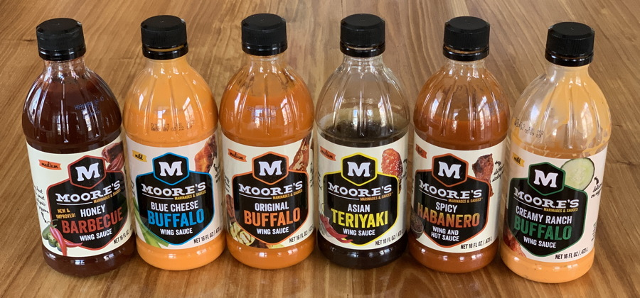 moore's marinades wing sauce dip