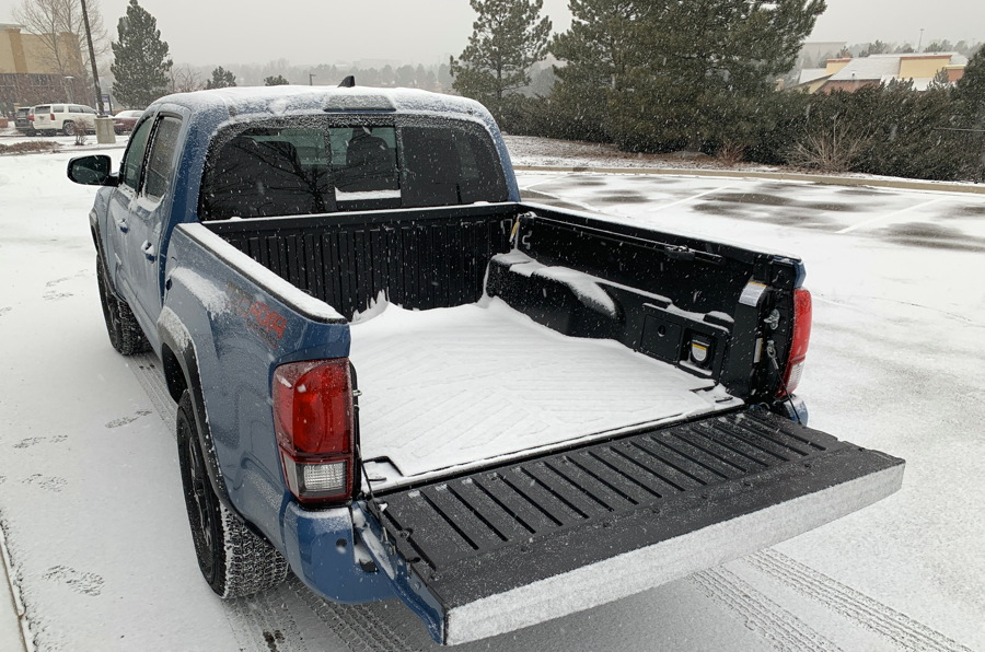 2019 toyota tacoma trd - back pickup bed
