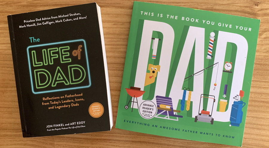 the book you give to your dad / the life of dad book