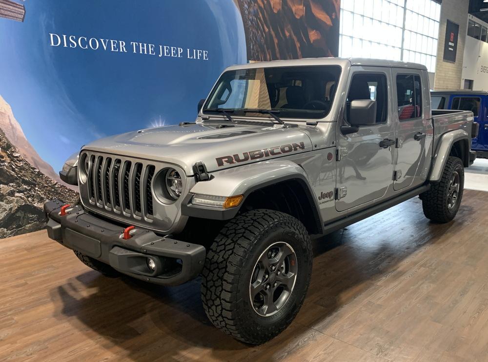 jeep rubicon gladiator truck