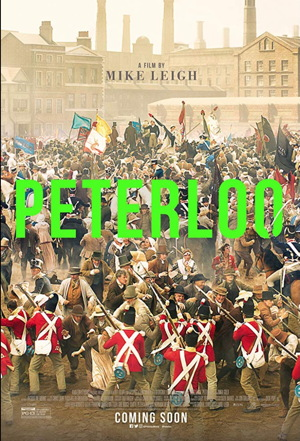 peterloo movie poster one sheet