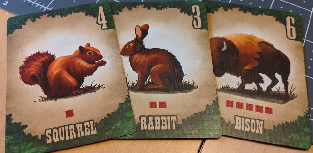 oregon trail hunting animals board game