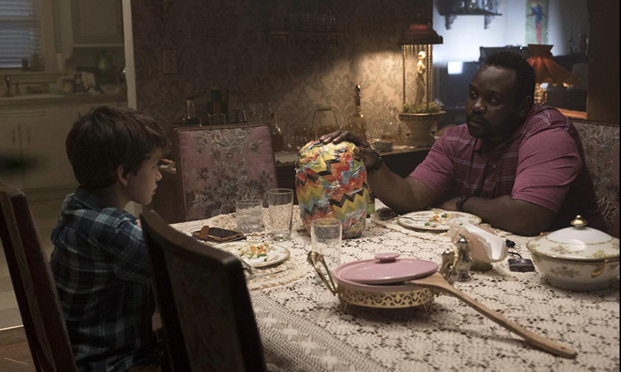 "Detective Mike (Brian Tyree Henry) and Andy (Gabriel Bateman) in ""Child's Play"""