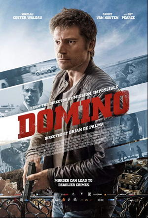 domino 2019 movie poster one sheet