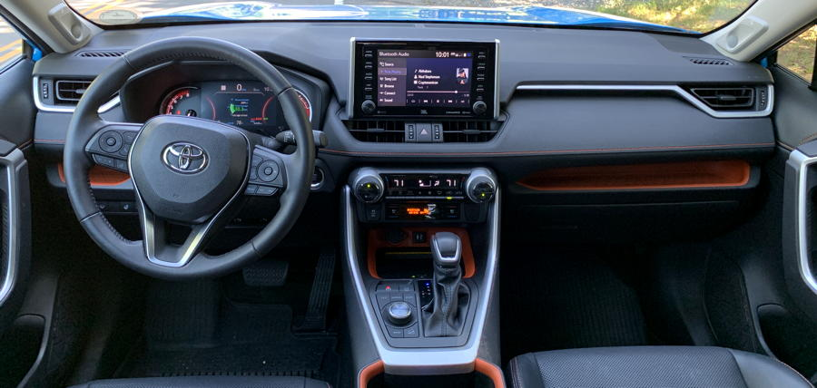 2019 toyota rav4 adventure - dashboard interior