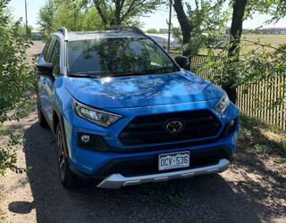 2019 toyota rav4 awd adventure - test drive review