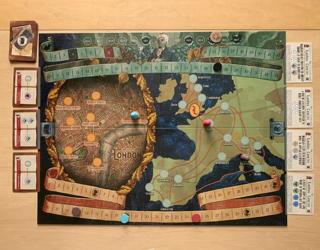 jonathan strange & mr norrell board game - review