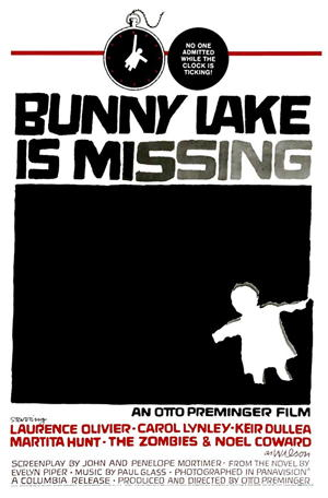 bunny lake is missing movie poster one sheet