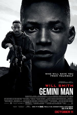 gemini man movie poster