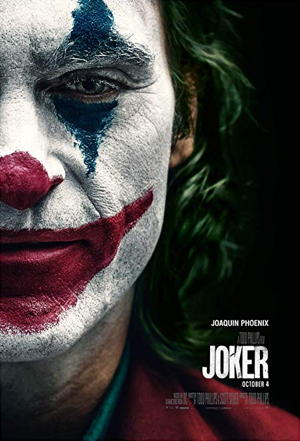 joker 2019 movie film poster one sheet