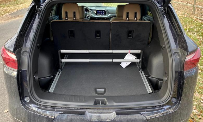 2020 chevy blazer - rear storage compartment