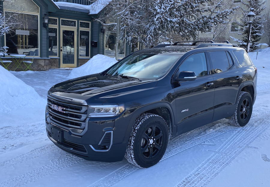 2020 gmc acadia awd exterior front