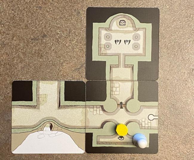 forgotten depths game - starting map