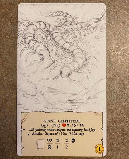 forgotten depths game - monster!