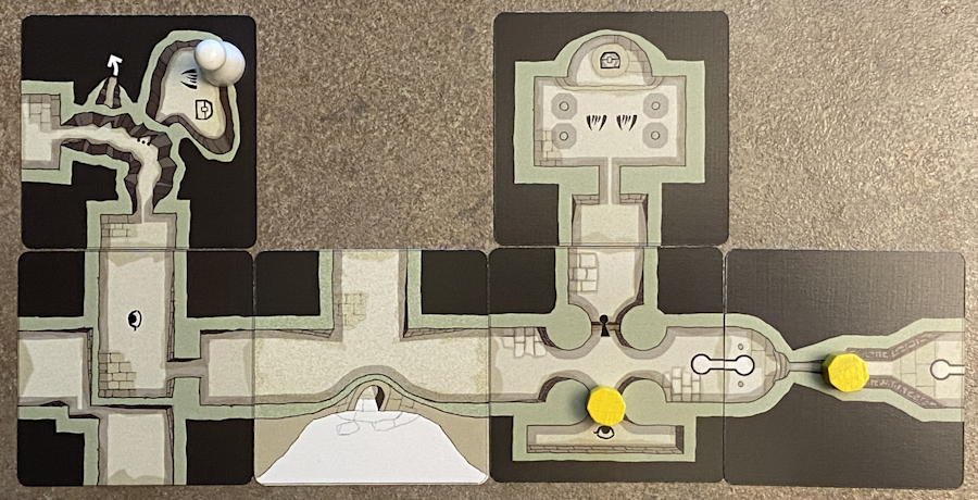 forgotten depths game - advanced dungeon map